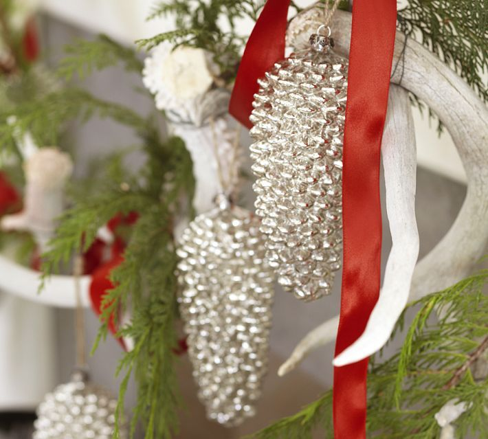 Mercury Gl Pinecone Ornaments 8