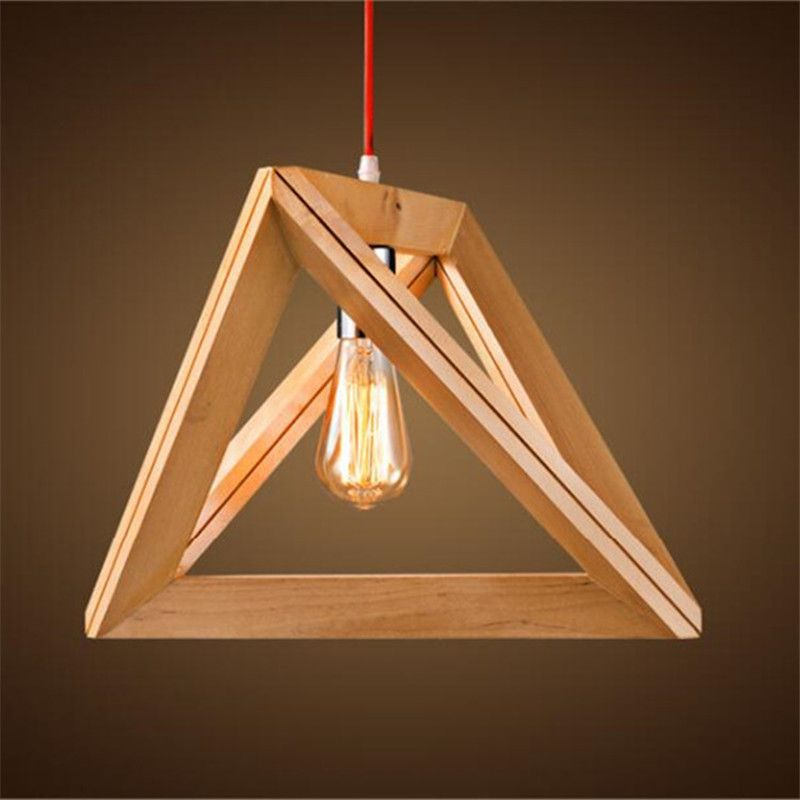 Cheap light cord buy quality pendant light cord directly from china loft style suppliers oak wood triangle pendant light cord fixture loft japanese