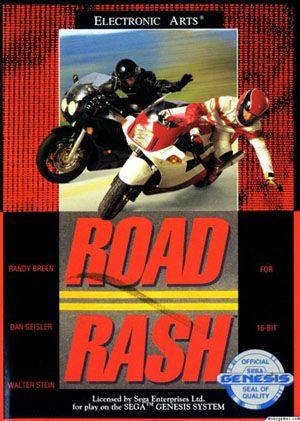 Mega Drive 16 Bits - Road Rash I   old school video games
