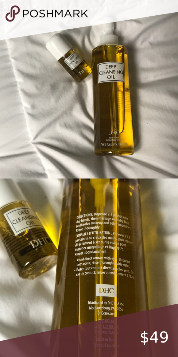 Brand new, never opened DHC cleansing oil cleanser