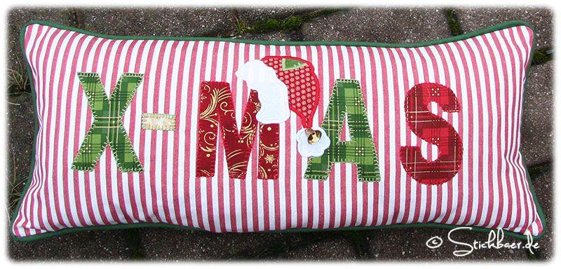 Weihnachtskissen Free Tutorial