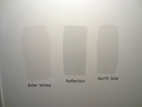 Is Really First Star Too Cool For The Hall Eider White Sherwin Williams Eider White North Star Sherwin Williams