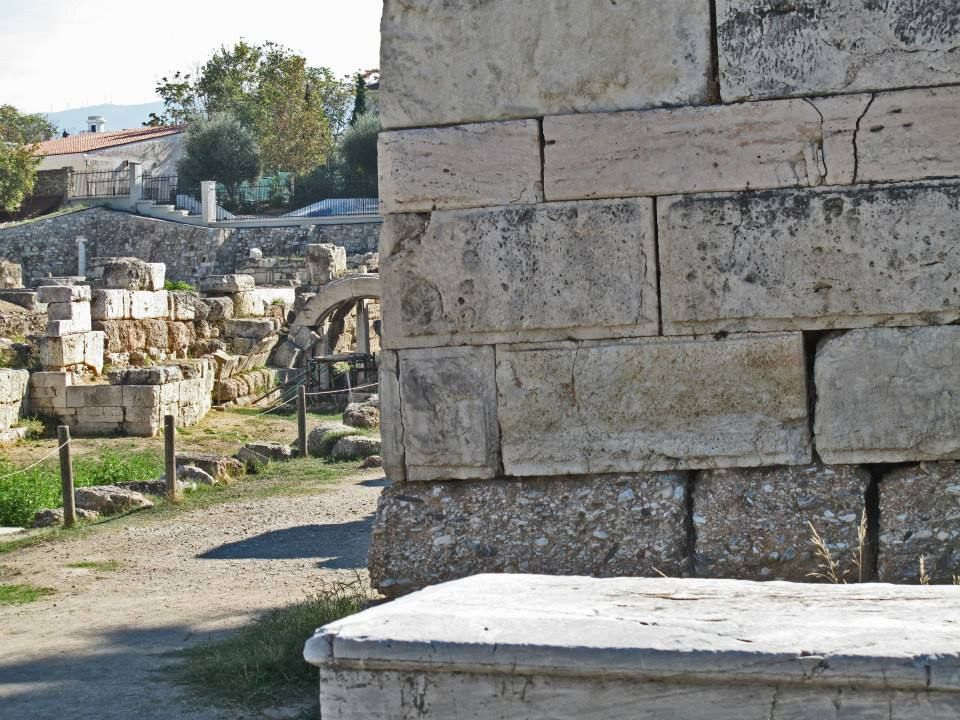 The Fortification of Ancient Athens, Kerameikos Ancient Cemetery, Athens