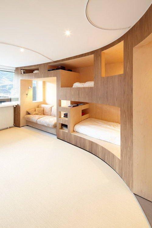 Beautiful Ski Resort Interior Design in Menuires, France ...