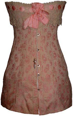 brocade corset ca 191113  fashion vintage corset