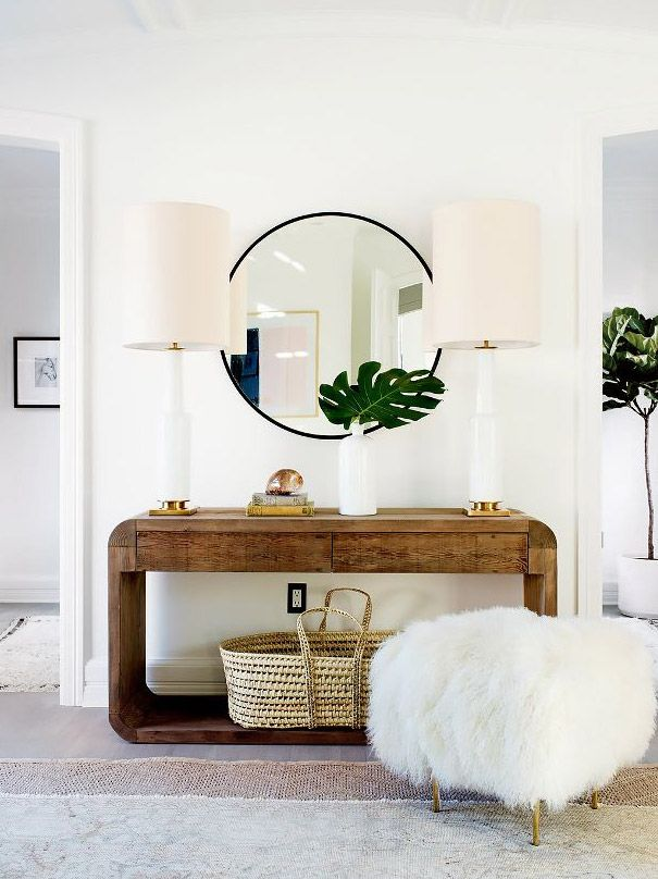 How to Choose Your Bedroom Lighting | Large table lamps, Console ...