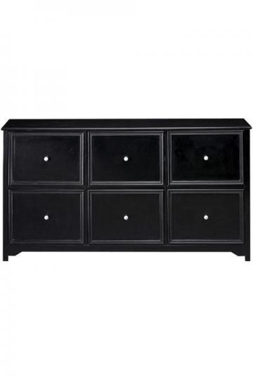Drawer File Cabinet Console Table