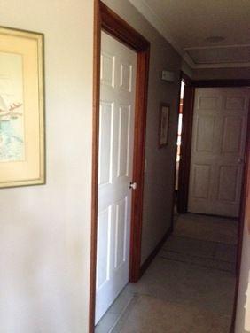 Interior doors colors houzz house ideas interior - White interior doors with wood trim ...
