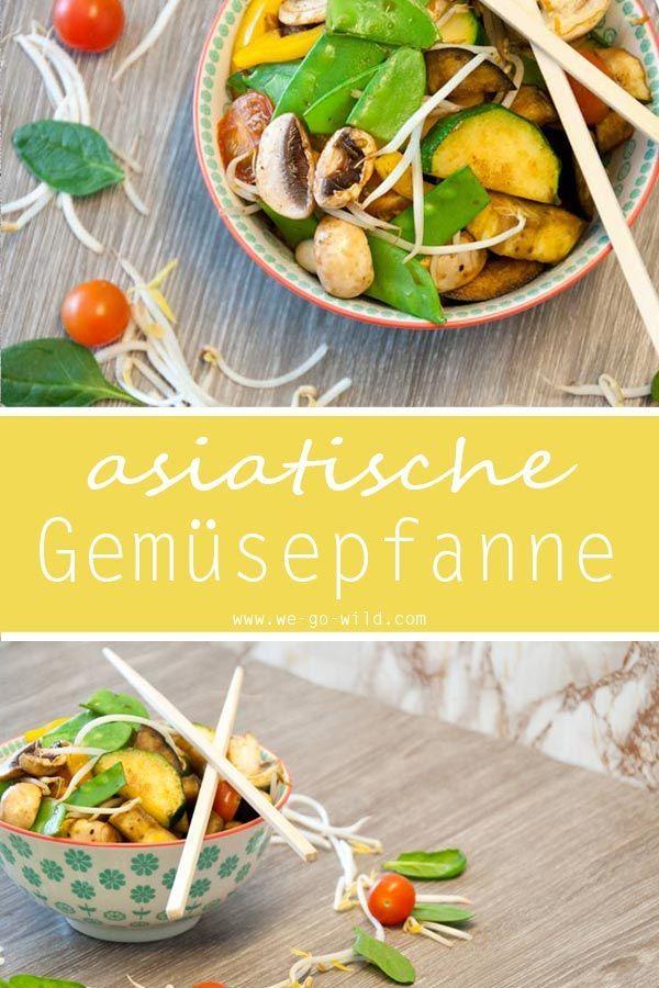 Kalorienarme Gemüsepfanne 3x schnell, lecker und gesund Food - vietnamesische küche münchen