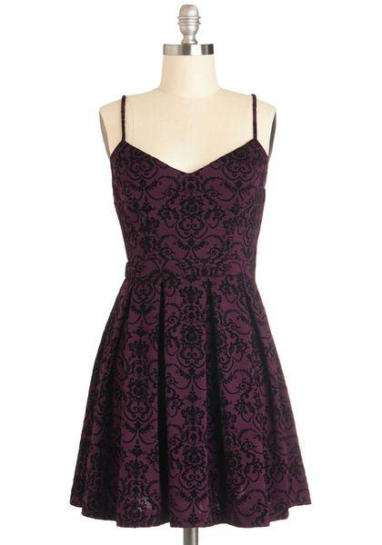 Scenic Designer Dress in Burgundy | Mod Retro Vintage Dresses | ModCloth.com from shareasale.com