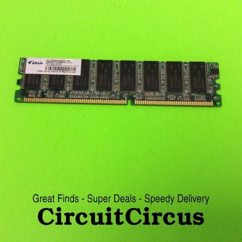 M2U25664DS88B3G-75B ELIXIR PC 256MB DDR PC2100U RANDOM ACCESS MEMORY
