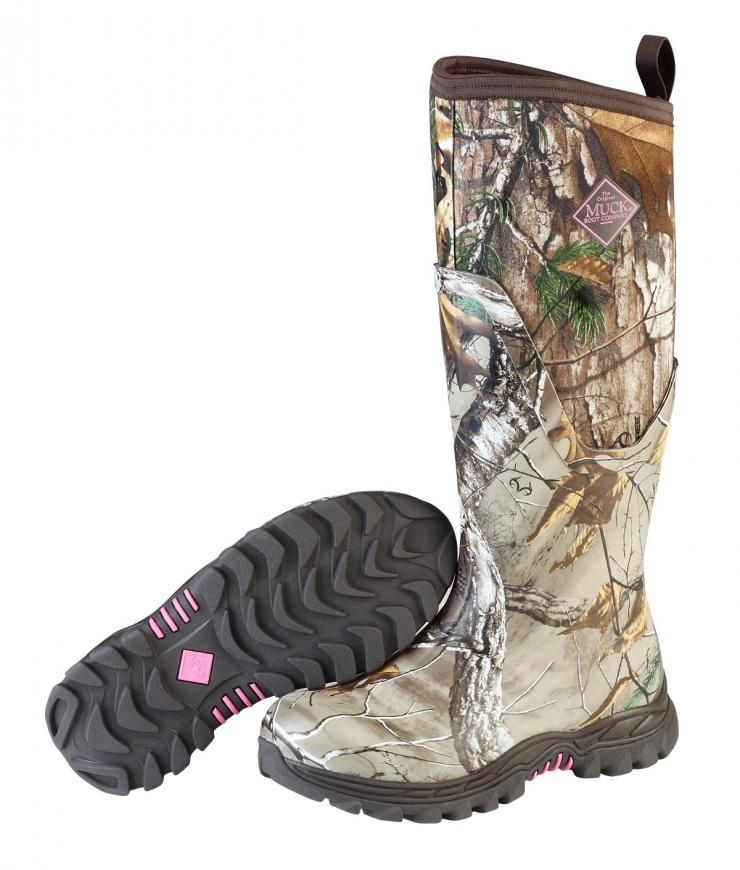 Muck Women's Arctic Hunter in Realtree Camo. Muck Boot CompanySnow ...