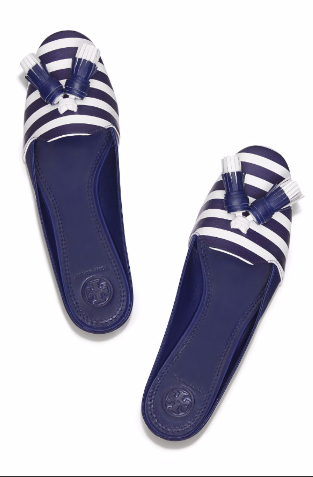 Shoe bag · Tory Burch Maritime Tassel Slide