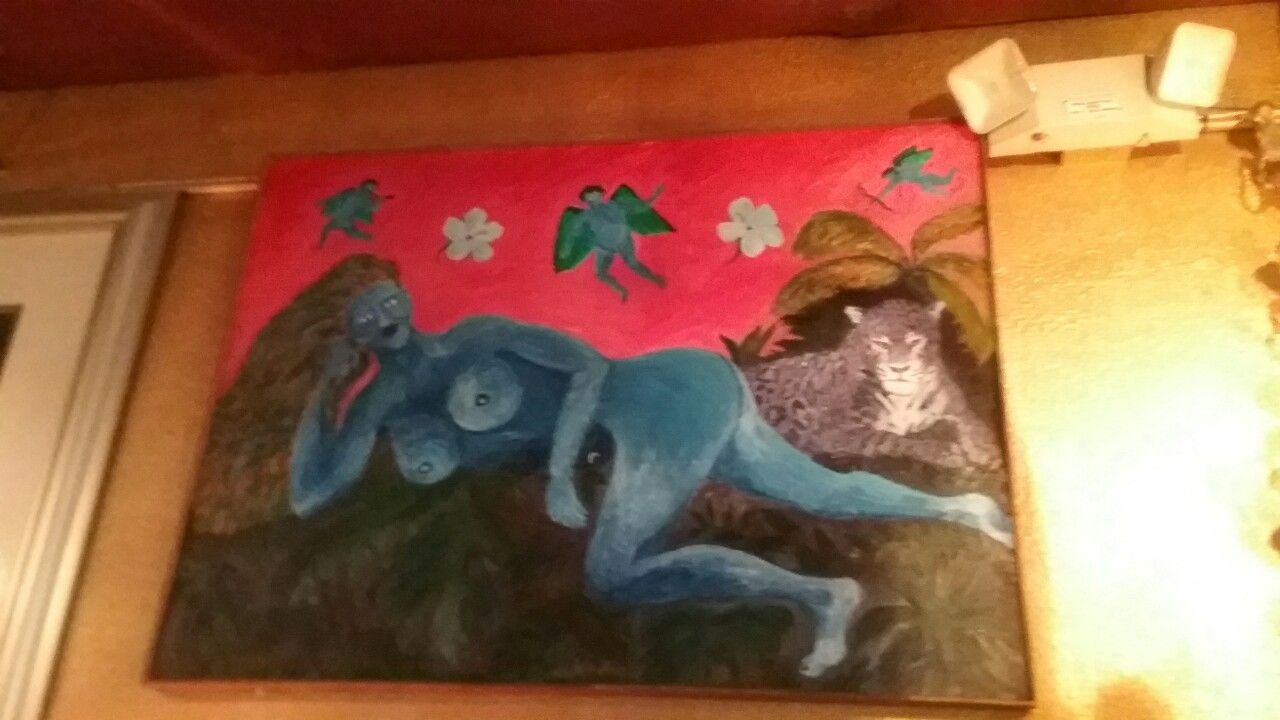 Blue Venus In 2 Vinez Wine Bar Art Website Painting Art