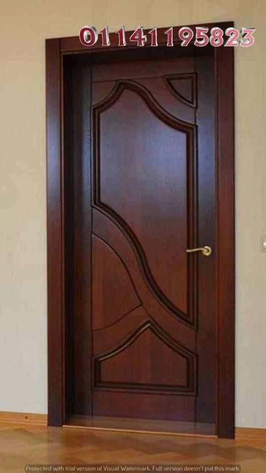 موديلات ابواب خشب Modern Door Doors Interior Modern Ceiling Design Modern