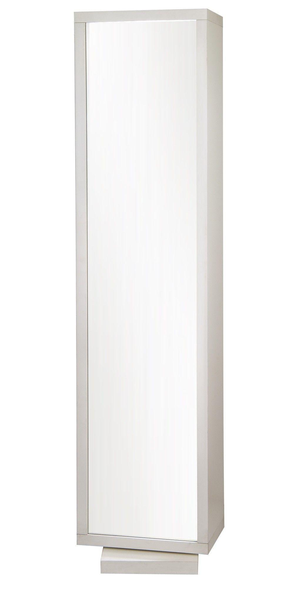 Home Deluxe Mirror And Swivel Floor Cabinet Swivel Stands  # Plasma De Luxe