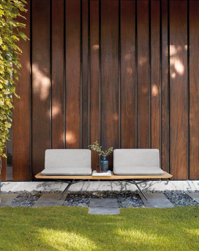 Bancs de jardin pour salon et salle à manger d\'extérieur | Outdoor ...