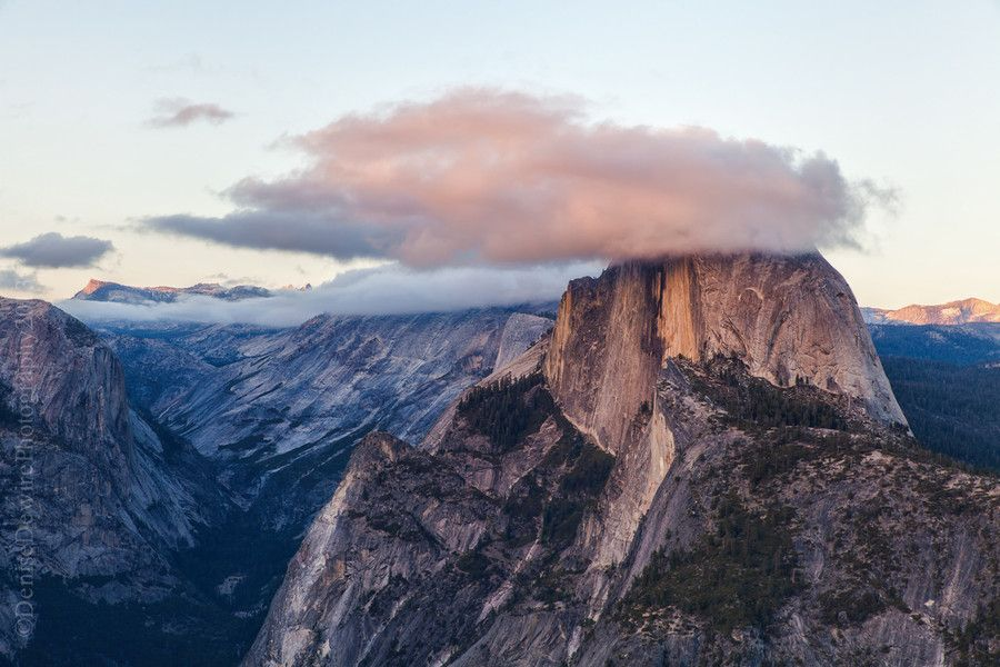 Interesting Cloud over Half Dome by Denise Dewire, via 500px