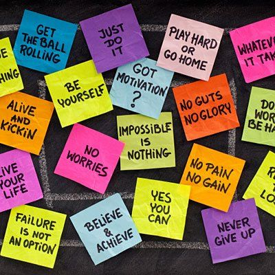 Post It Notes Inspiration Click For Motivation Slogans To Write On Inspiration Motivational Slogans