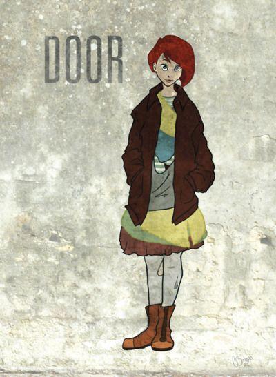 Door from \ Neverwhere. & From Neil Gaiman\u0027s \