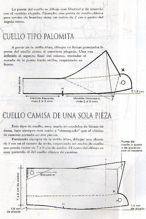 Pin de Roselia Dominguez en Patrones de costura | Pinterest ...