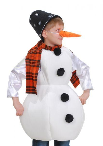 Костюм снеговика своими руками для девочки фото 27