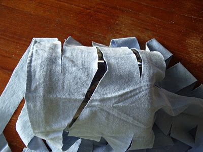 DIY t-shirt yarn, making a continuous piece of yarn per shirt