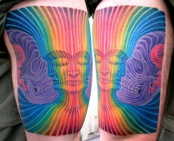 Great work by Dominick Allen McIntosh-Inspired by art from Alex Grey  I have work done by this guy. He is awesome. I feel like a I know a celebrity. Awesome job Dom.