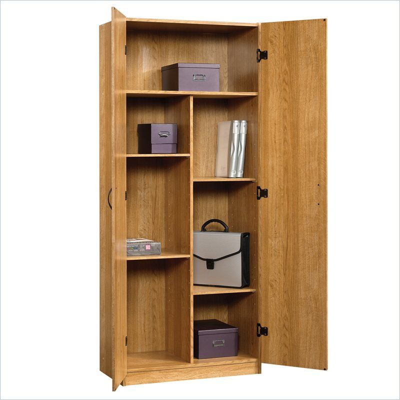 Sauder Beginnings Storage Cabinet in Highland Oak - 413326 30