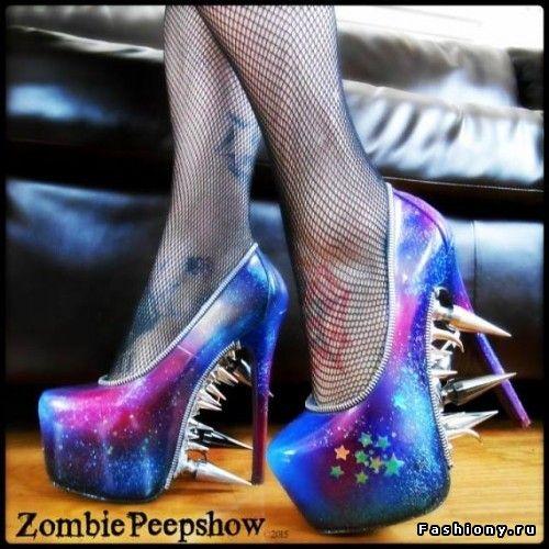 Zombie Peepshow-обувь как арт-объект