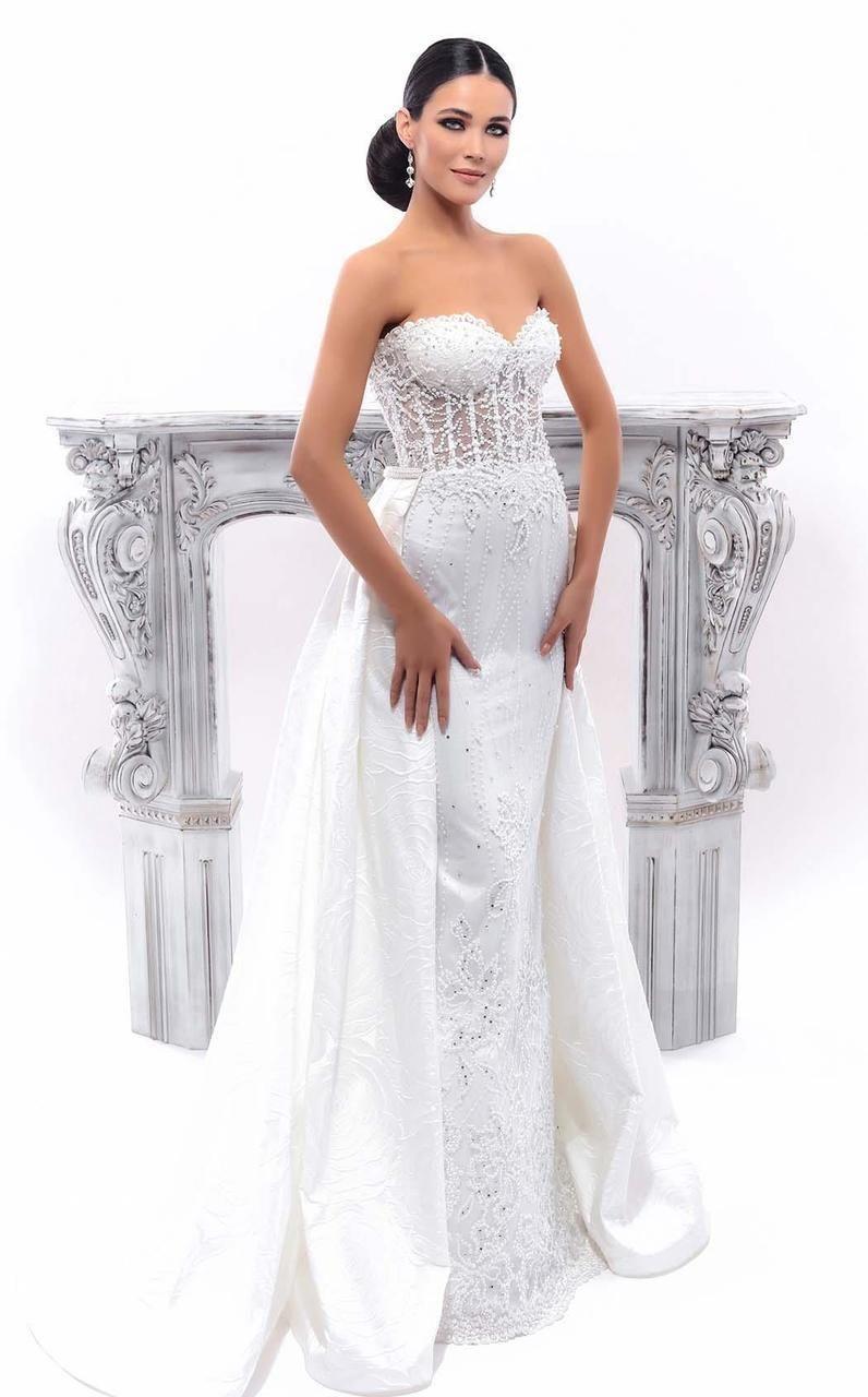 30+ Strapless corset top wedding dresses ideas