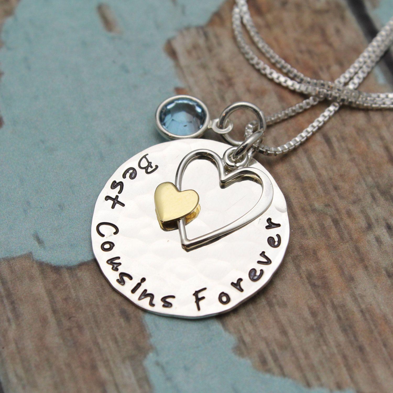 Best Cousins Forever Necklace, Cousins Gift, Cousins Necklace ...