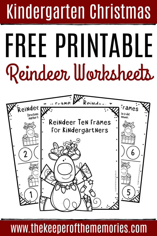 Ten Frame Worksheets Kindergarten Free Printable Reindeer Ten Frame Kinderg In 2021 Free Kindergarten Worksheets Kindergarten Math Worksheets Christmas Math Worksheets [ 1500 x 1000 Pixel ]