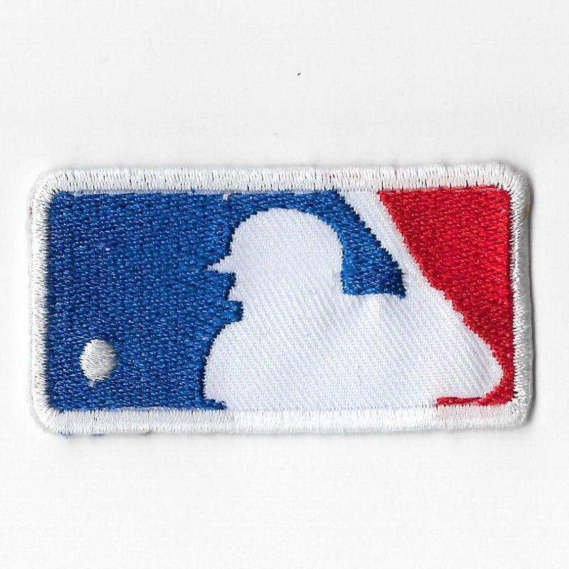 buy popular da522 643b0 MLB Major League Baseball Iron On Patches Embroidered Sew ...