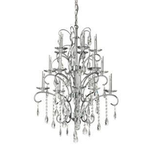 15 Light - Crystal - Chandelier from Homebase.co.uk bedroom light ...