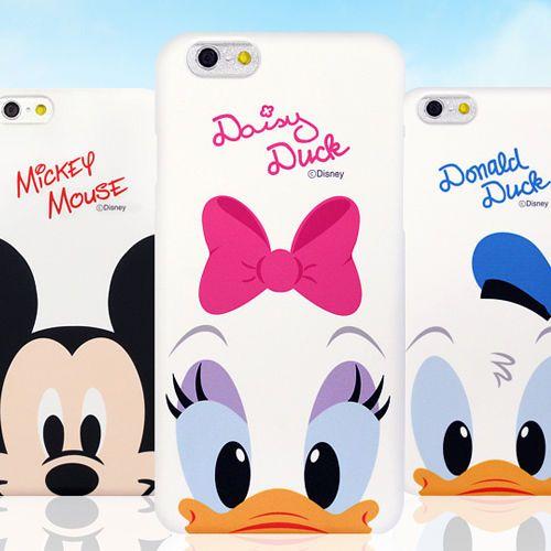 Genuine Disney Cutie Hard Case iPhone 6 Case iPhone 6 Plus Case 6 Types Korea #Disney