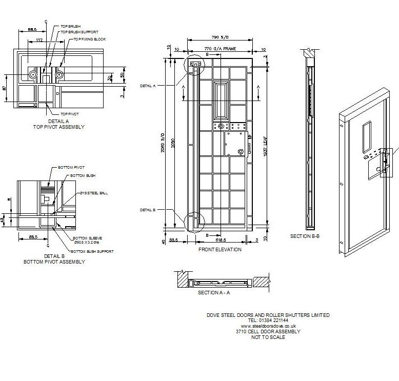 Door Assembly Drawing Google Search Arquitetura