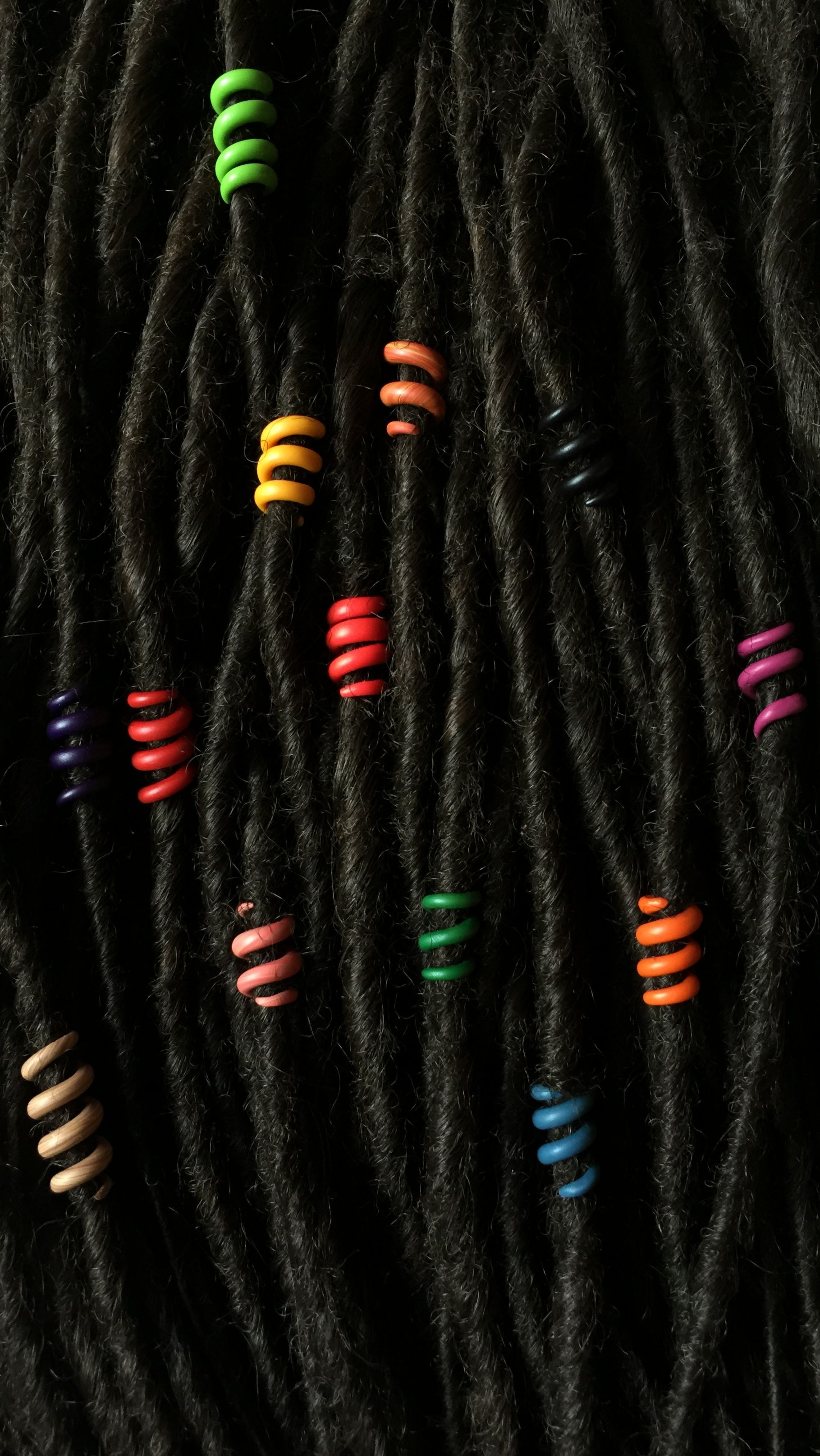 Set Of 13 Dread Beads 6 Mm Dreadlock Beads Hair Bead For Dreads Bead