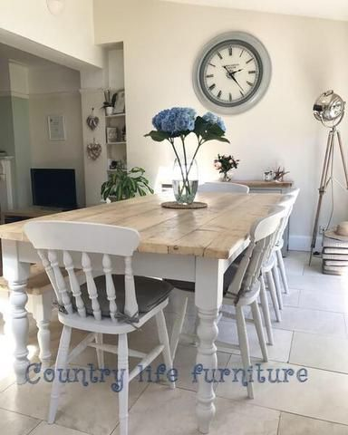 Photo of Farmhouse Dining Table | Country Life Furniture | Warwickshi…