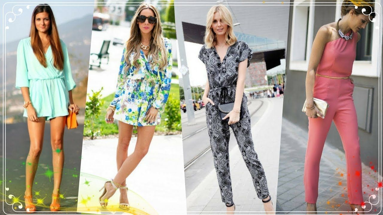 9faa71e36b71 Hot Fashion Trend jumpsuits and Rompers outfits for women 2018 ...