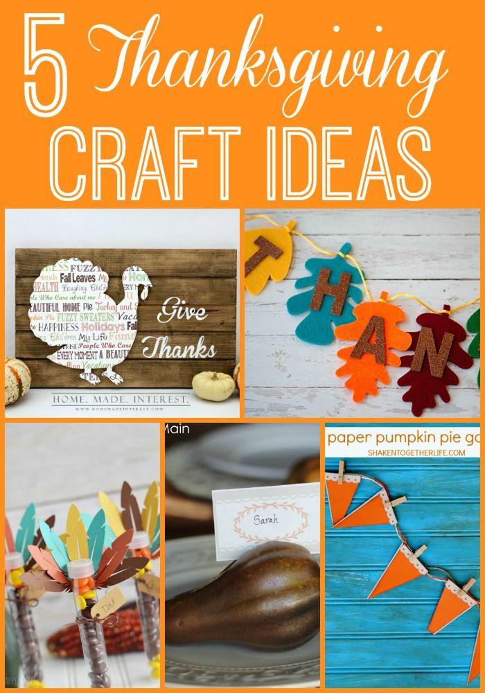 Five Thanksgiving Crafts Modern Pilgrim Blog Thanksgiving