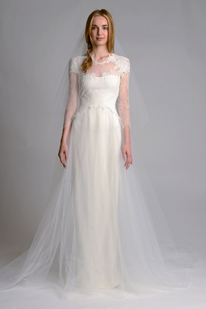 Marchesa Fall 2014 Bridal Collection. www.theweddingnotebook.com