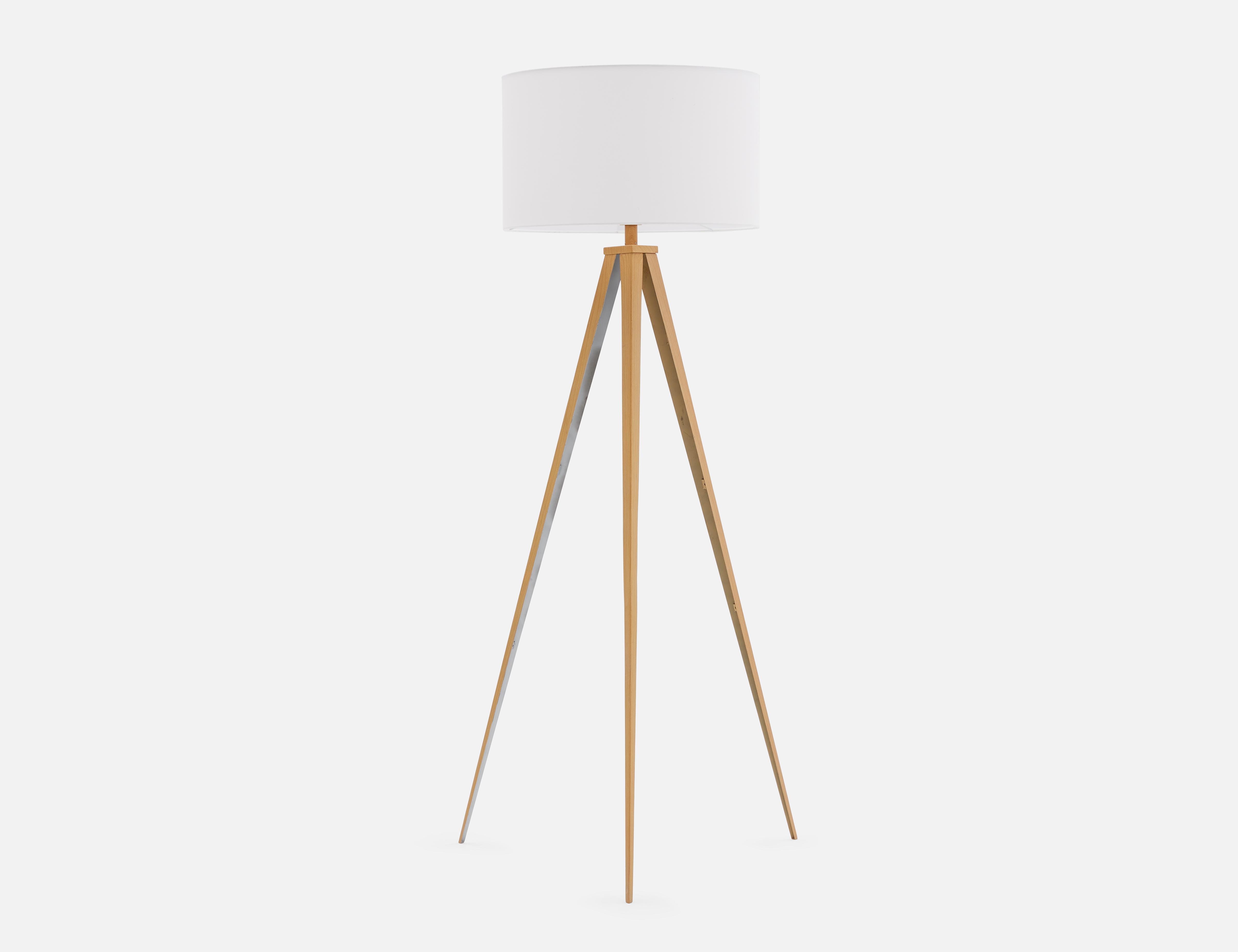 Gold Floor Lamp 155cm Height 61 Structube Harper Natural Floor Lamps Gold Floor Lamp Floor Lamp