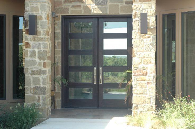 Modern Wood Door 8ft Rubi Double Entry Door Modern Wood Door Entry Doors Pinterest