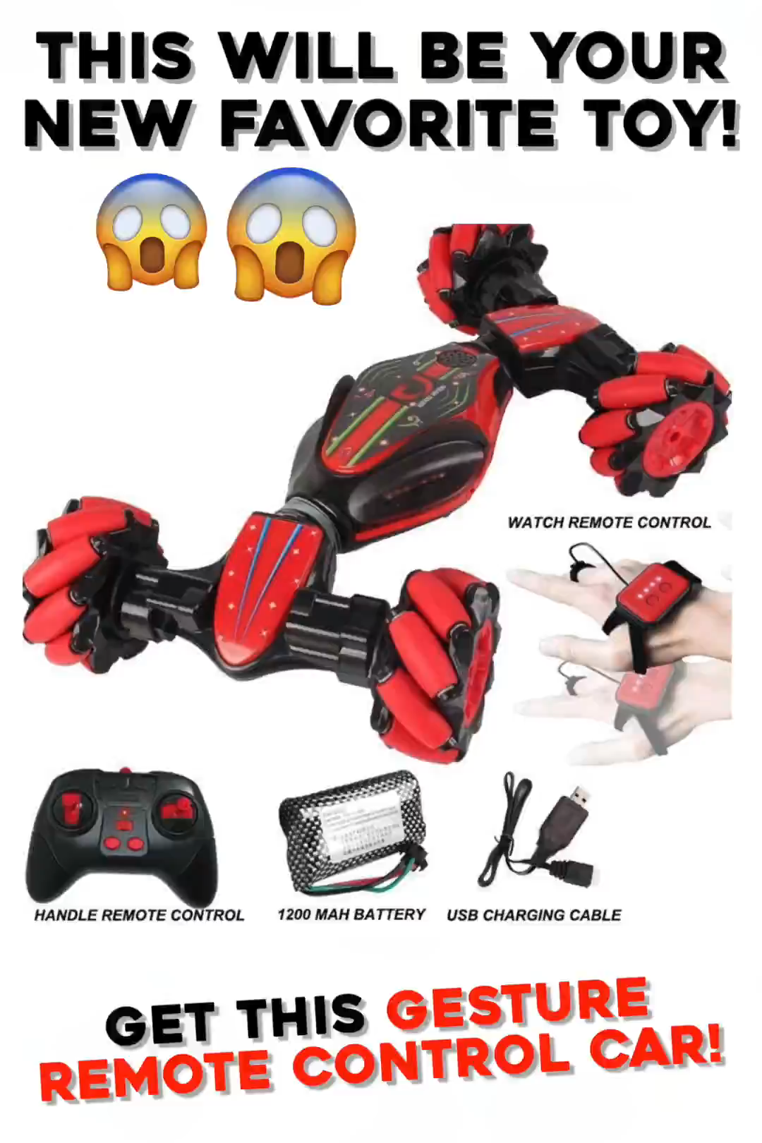 Gesture Controlled RC Car