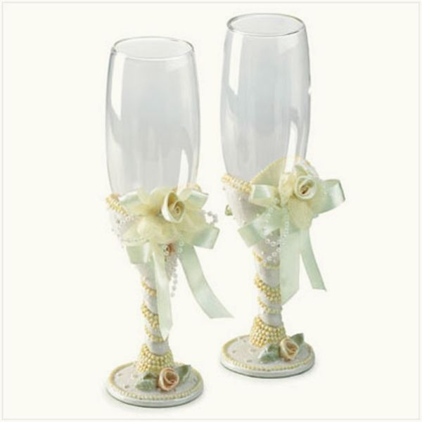 glass decorations for weddings white ribbon i could have these done for you as a - Glass Decorations