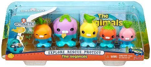 Octonauts The Vegimals Figure Set The Octonauts Octonauts Kids Toys Octonauts Birthday