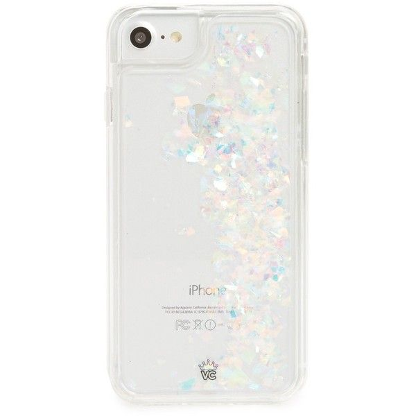 Women s Velvet Caviar Flakes Floating Iphone 7 8 Case ( 25) ❤ liked ... c2fa05489