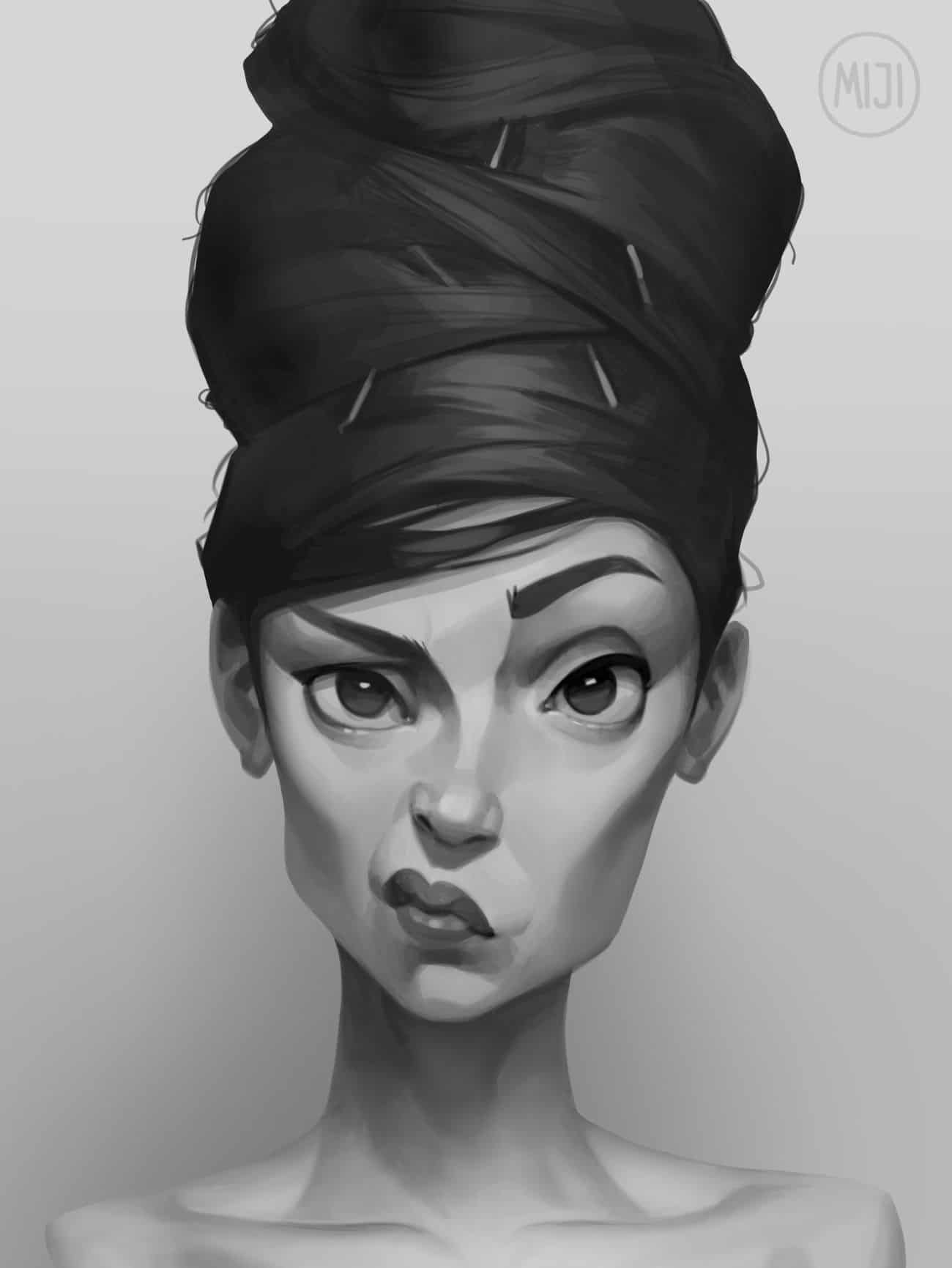 Digital Painting Process Pictures (Step-By-Step)