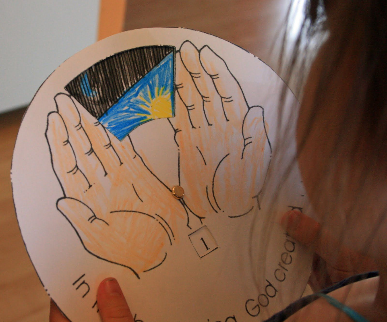 3 7 Days Of Creation Catholic Kindergarten Worksheets